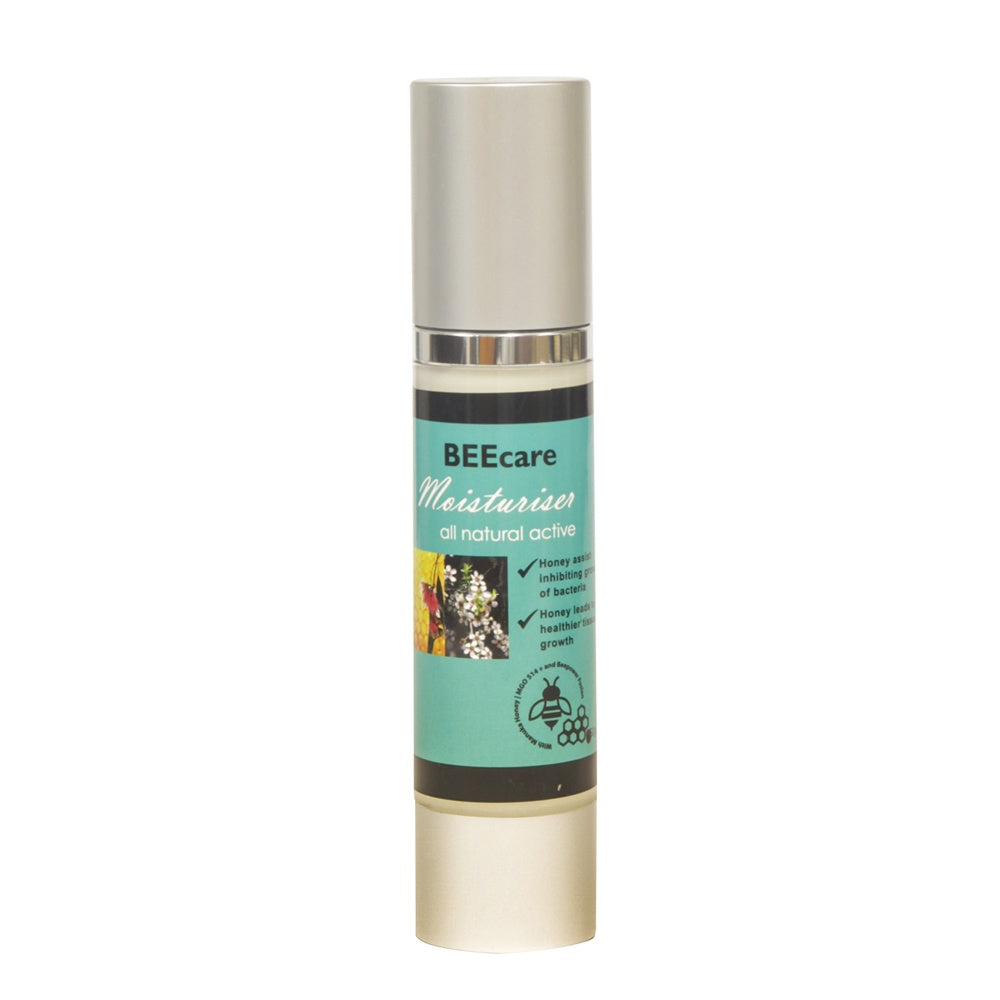 Beecare Moisturiser Pump Manuka MGO 514+ - Mudgee Honey Haven