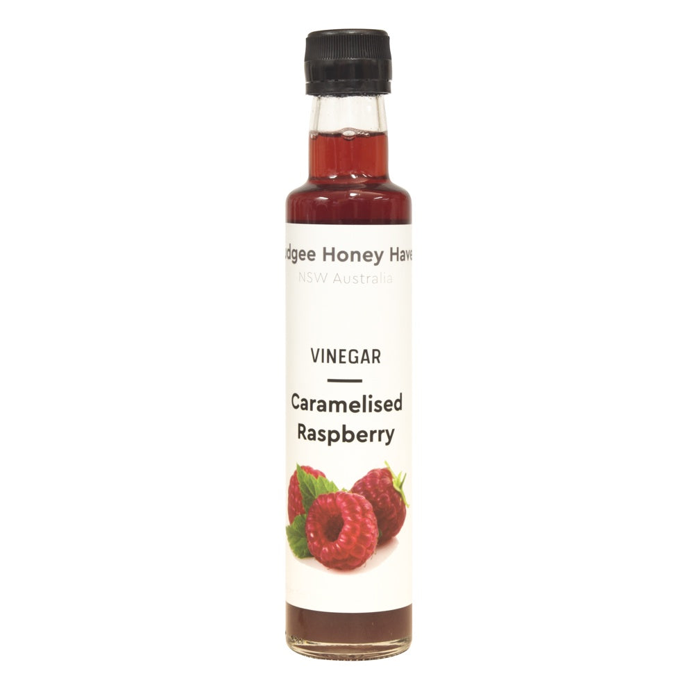 Caramelised Raspberry Vinegar 250ml - Mudgee Honey Haven