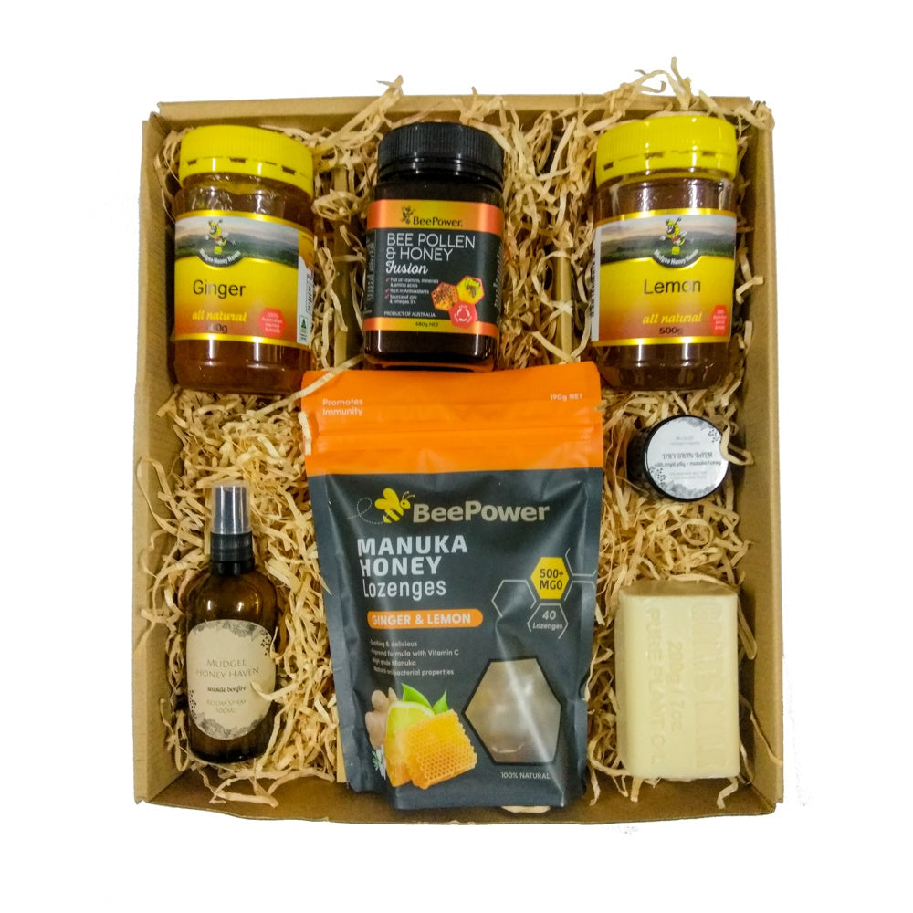 Essential Winter Survival Pack (Free Shipping) - Mudgee Honey Haven