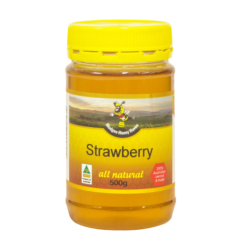 Strawberry Honey 500g - Mudgee Honey Haven