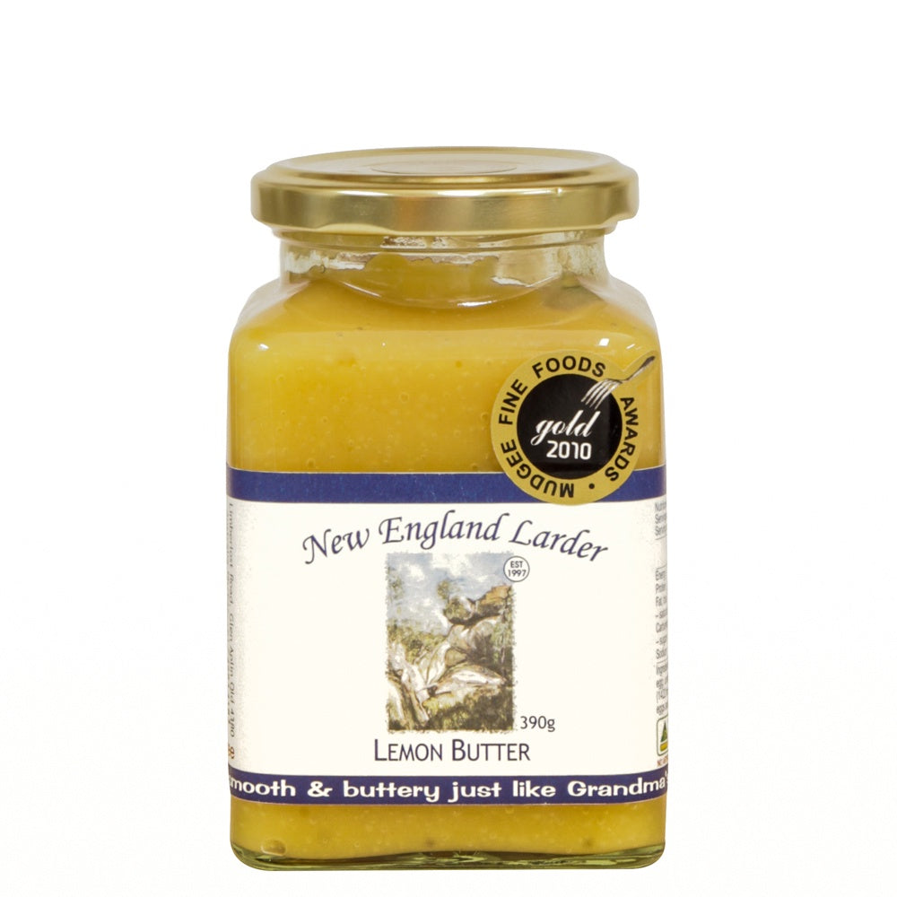 New England Larder Lemon Butter 375g - Mudgee Honey Haven