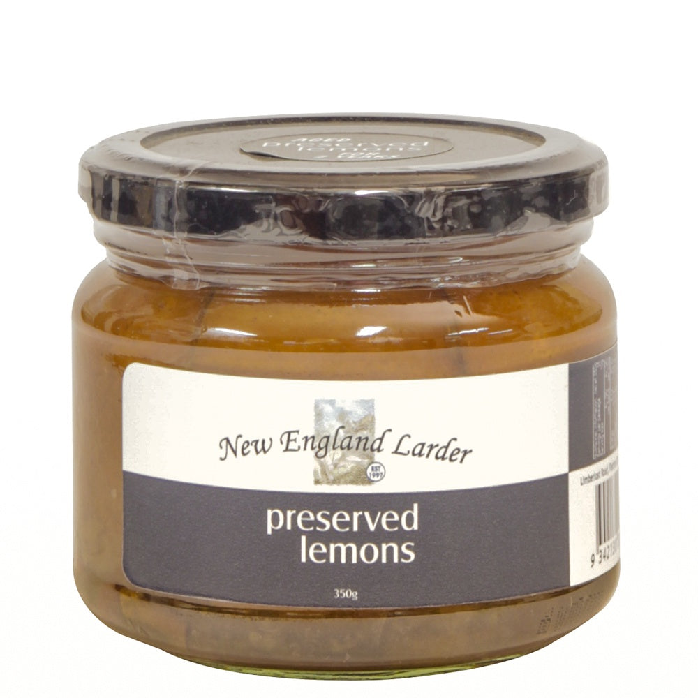 New England Larder Preserved Lemons 350g - Mudgee Honey Haven