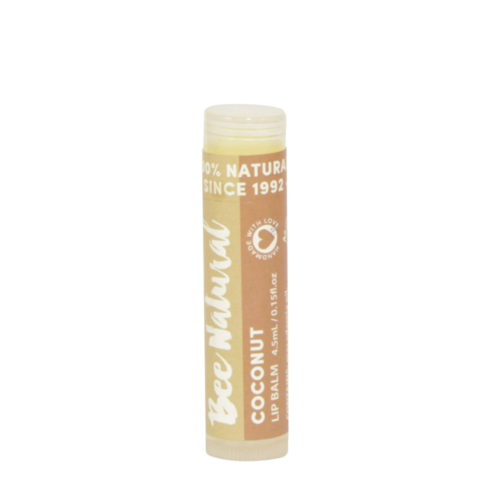 Bee Natural Lip Balm Coconut - Mudgee Honey Haven