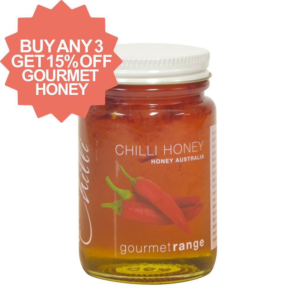 Honey Australia 170g Chilli - Mudgee Honey Haven