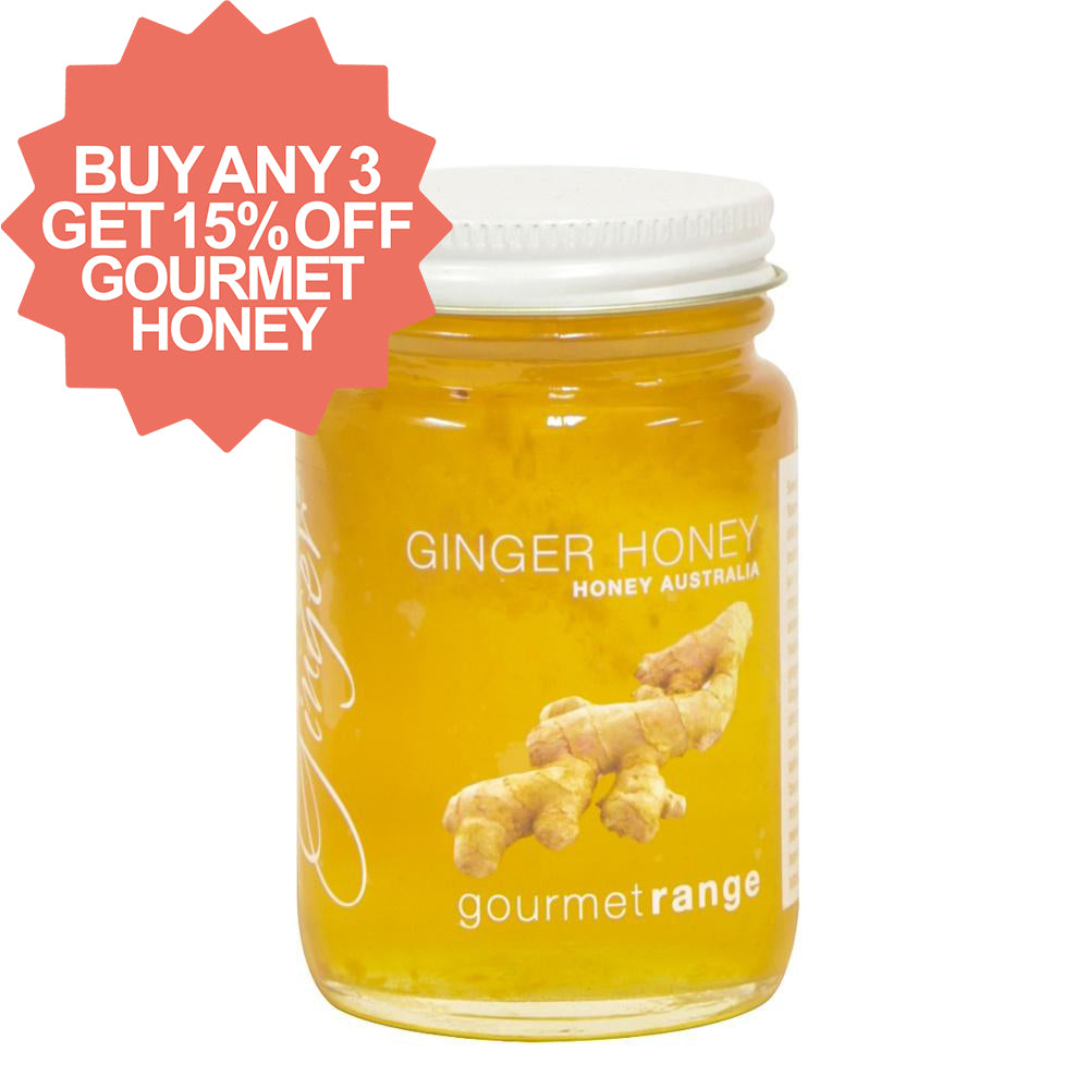 Honey Australia 170g Ginger - Mudgee Honey Haven