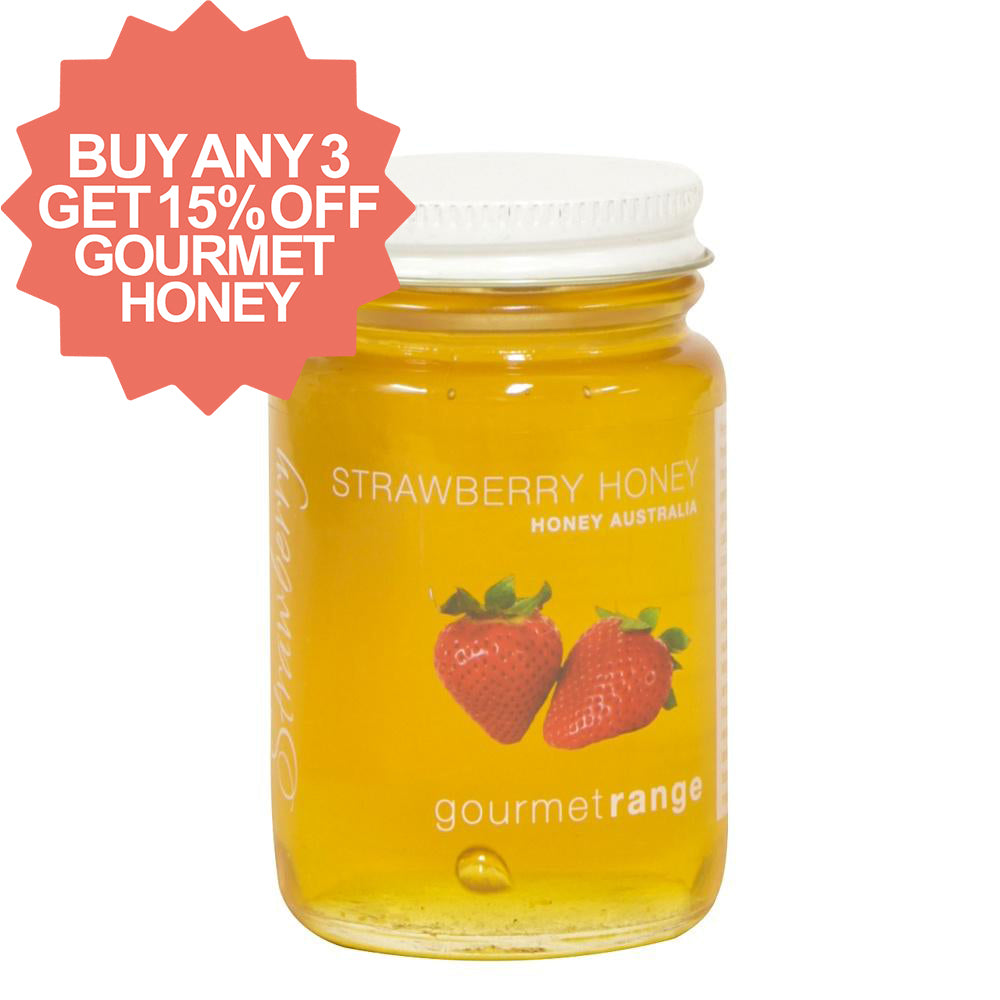 Honey Australia 170g Strawberry - Mudgee Honey Haven