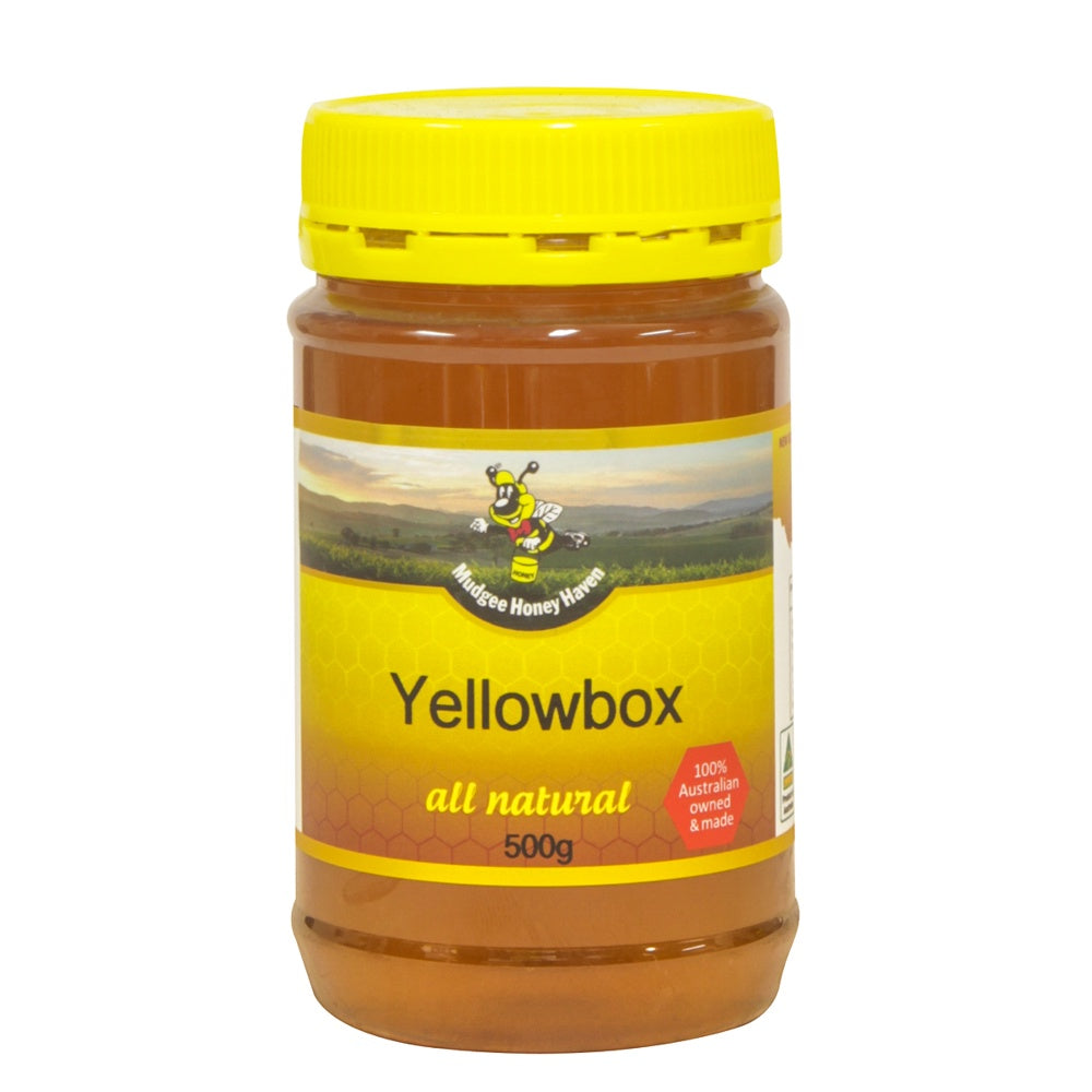 Yellowbox Honey 500g - Mudgee Honey Haven