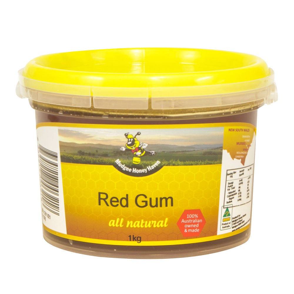 Red Gum Honey 1kg - Mudgee Honey Haven