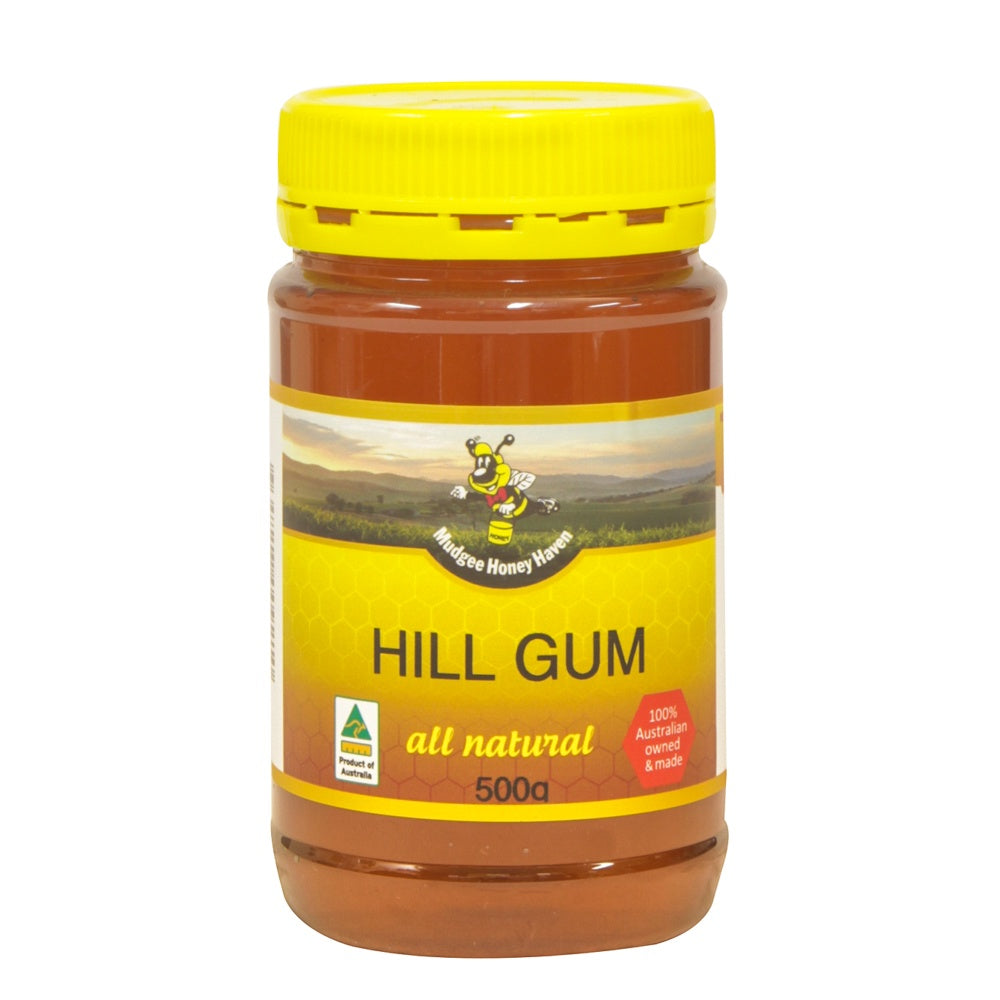 Hill Gum Honey 500g - Mudgee Honey Haven