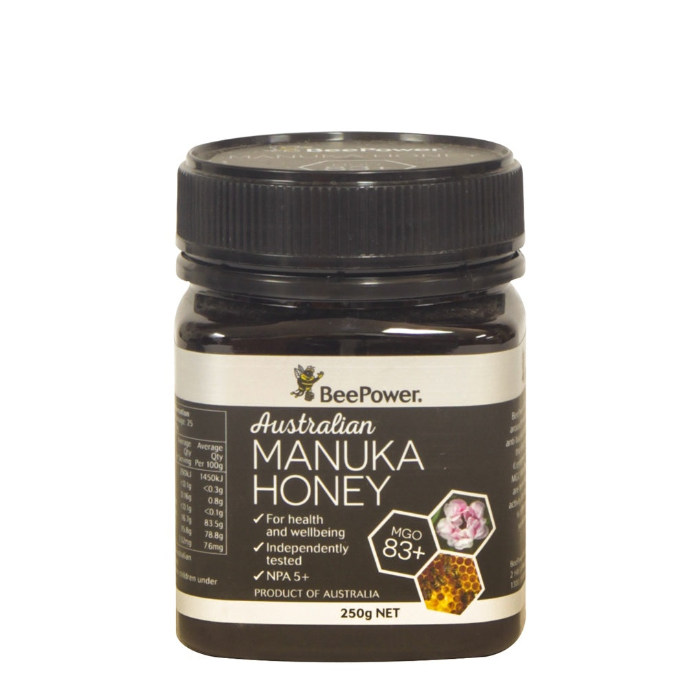 Beepower Manuka (+5 UMF - MGO 83) 250g - Mudgee Honey Haven