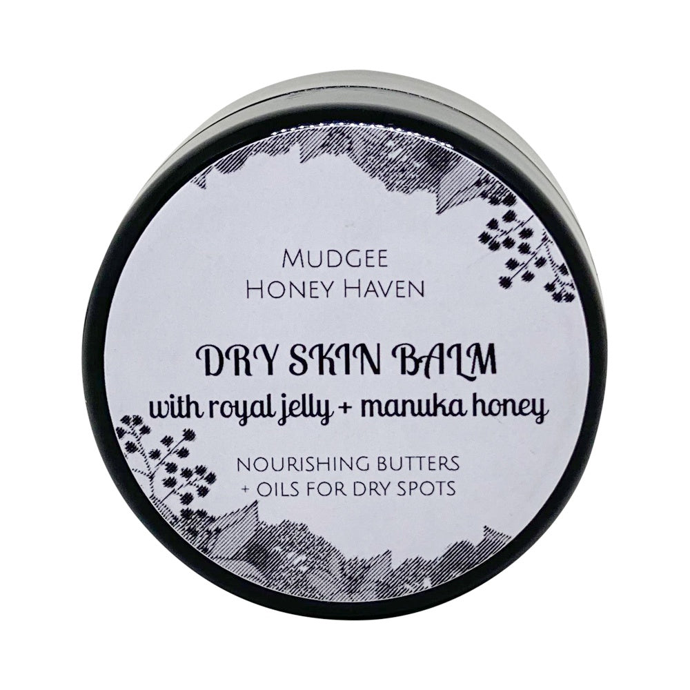 Dry Skin Balm with Royal Jelly 20ml - Mudgee Honey Haven