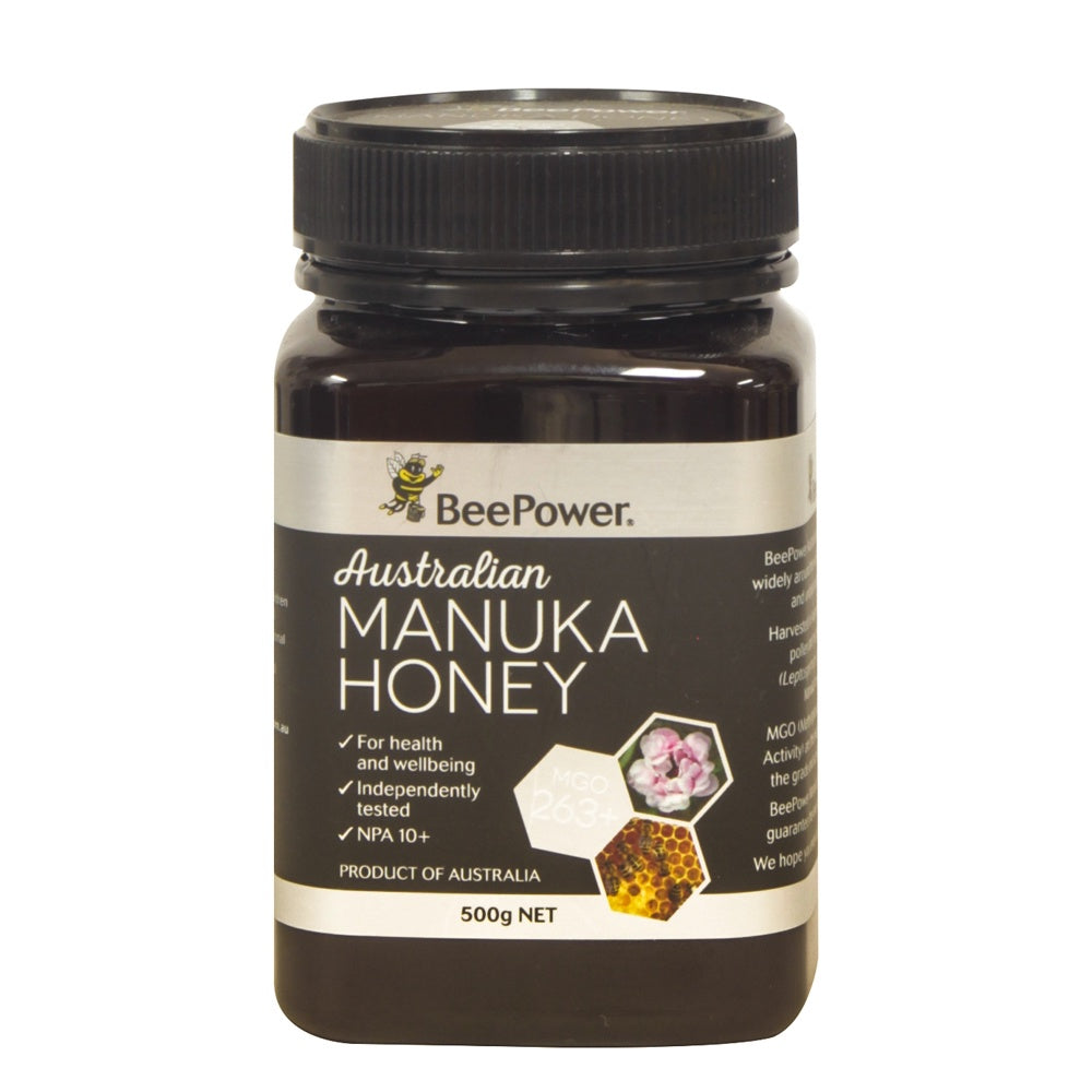 Beepower Manuka (+10 UMF - MGO 263) 500g - Mudgee Honey Haven
