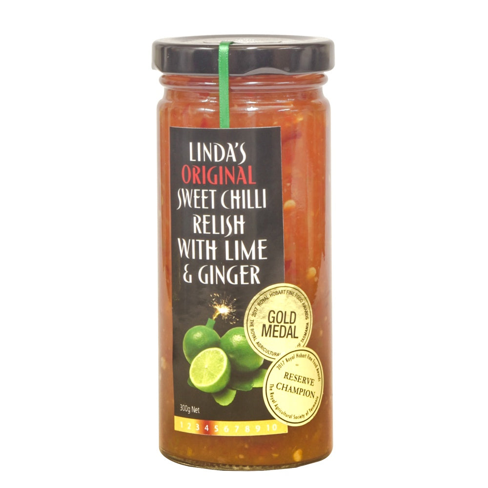 Linda's Chilli Lime and Ginger Sauce 300g - Mudgee Honey Haven