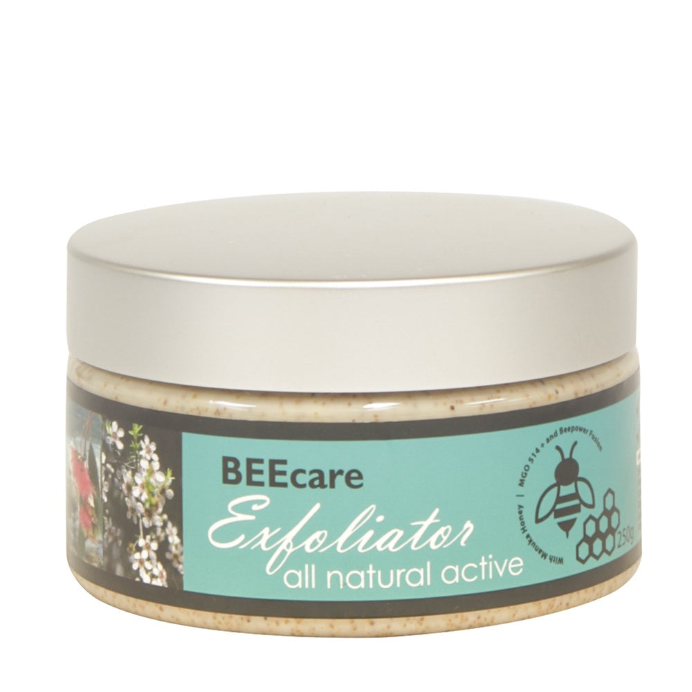 Beecare Exfoliator Manuka MGO 514+ - Mudgee Honey Haven