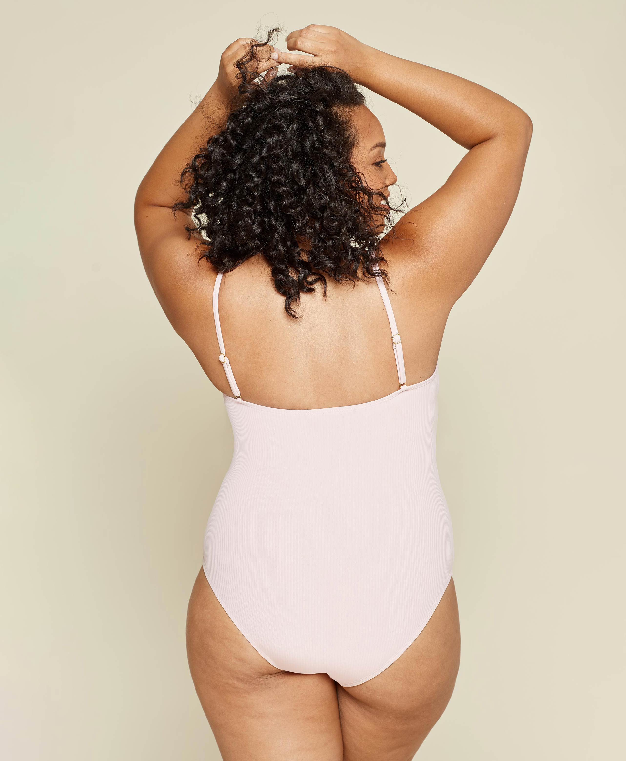 The Amalfi - Ribbed - Blush - Classic