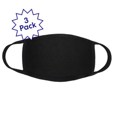 Look Good Do Good Black Active Face Covering 3-Pack