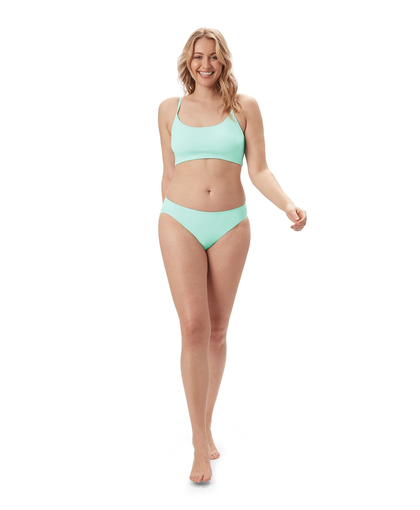 The Maui Top - Flat - Aqua - Final Sale