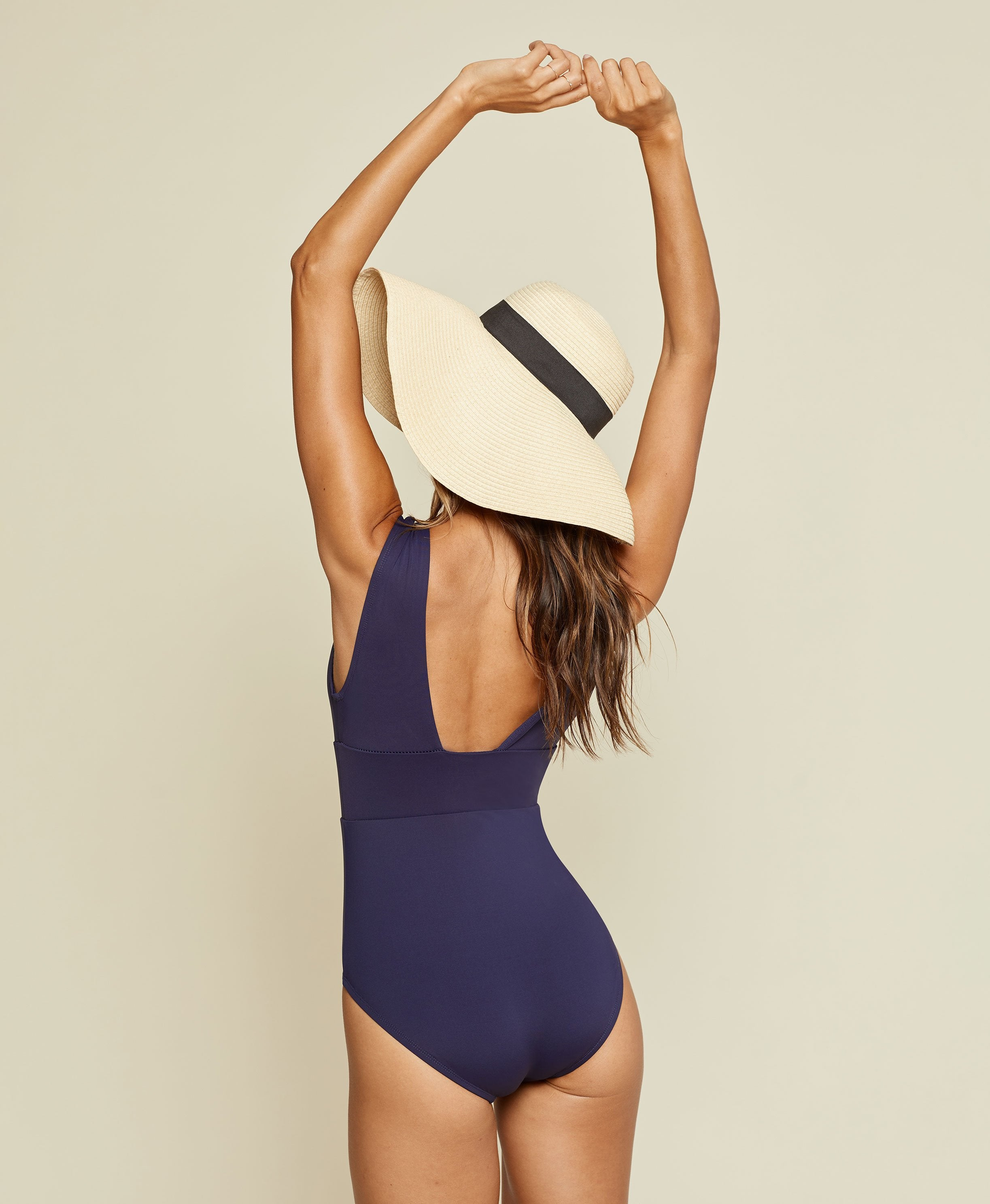 The Mykonos - Flat - Navy - Classic