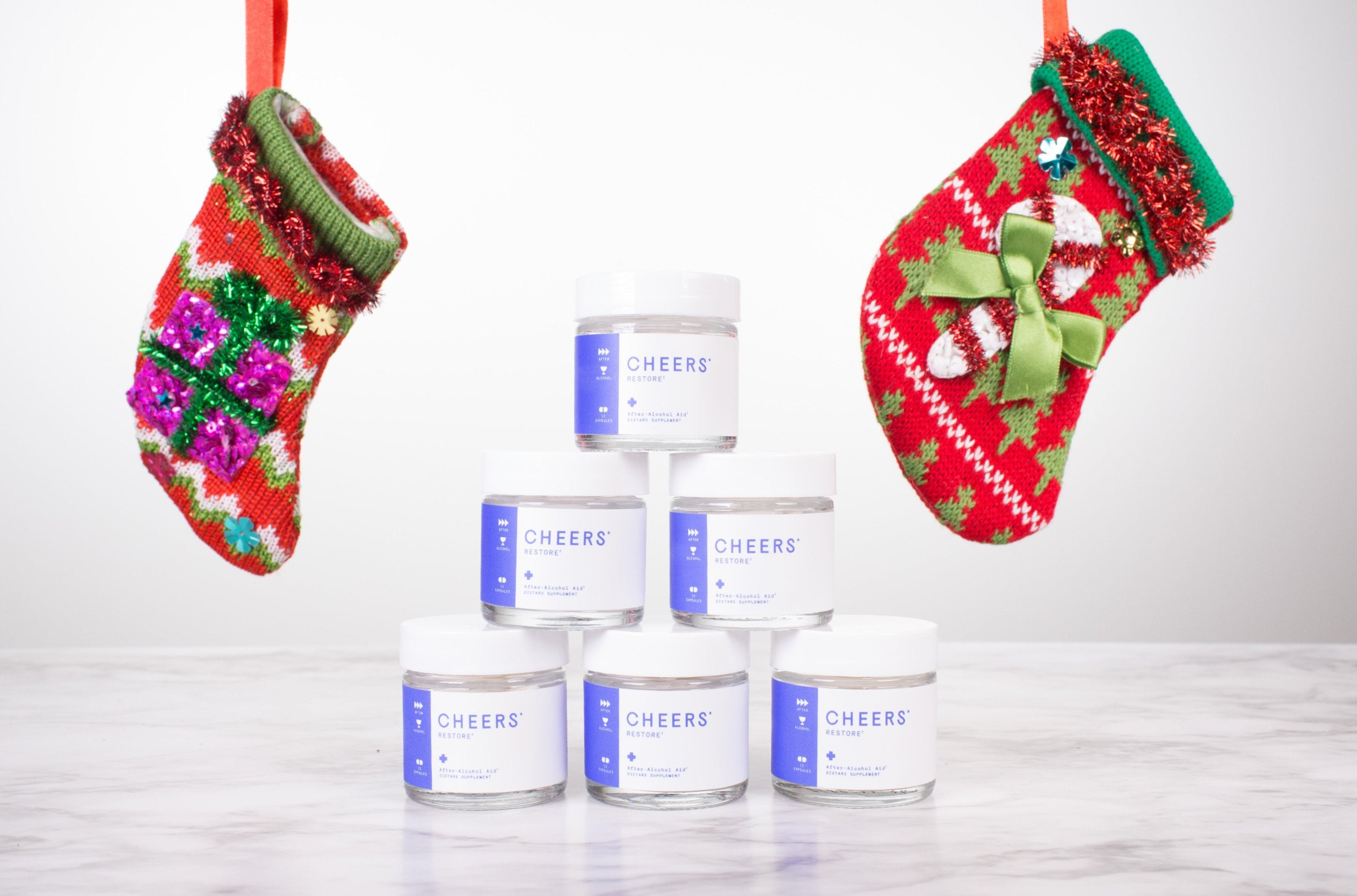 Cheers Restore (4 Dose) Holiday Stocking Stuffer