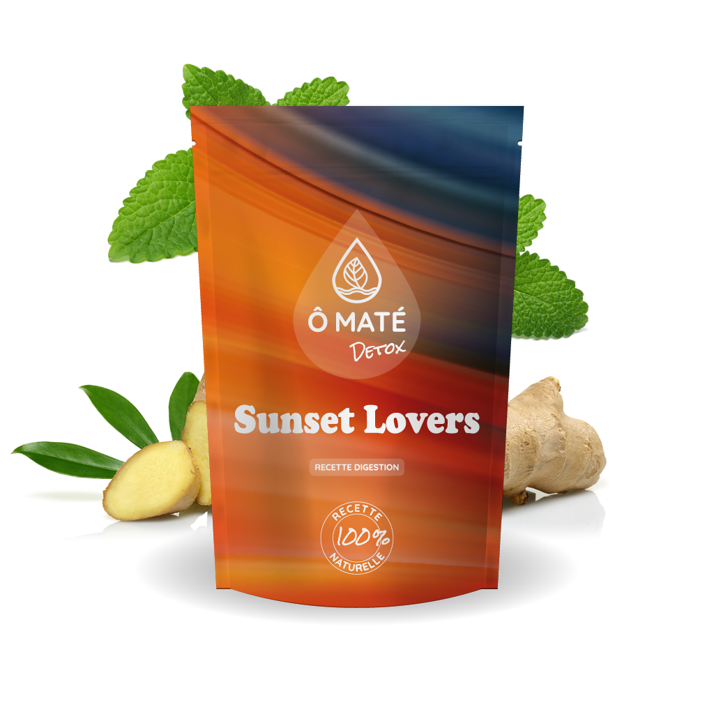 Sunset Lovers, recette digestion