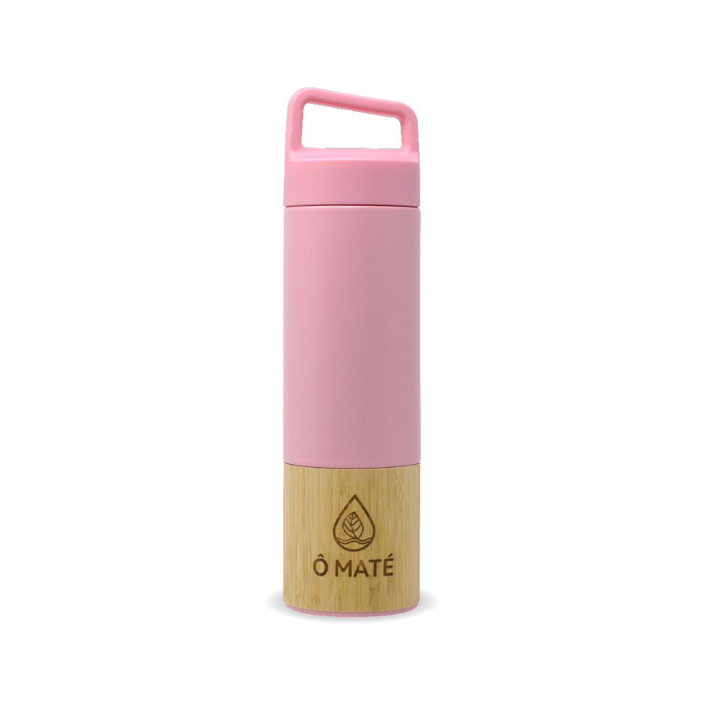 Thermo infuseur Bambou rose