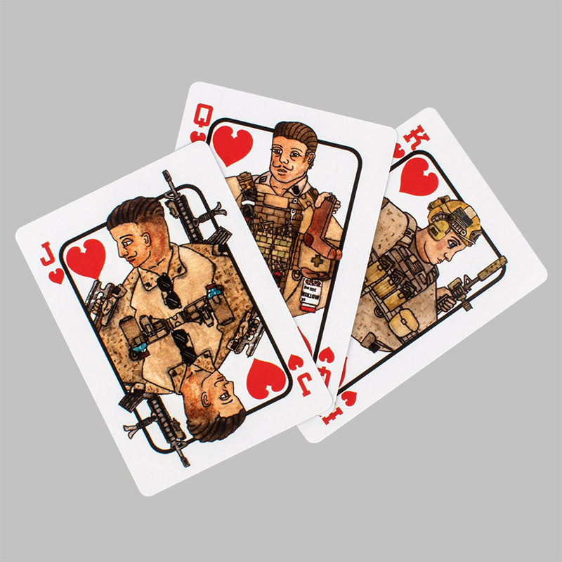 War Fighter Playing Cards
