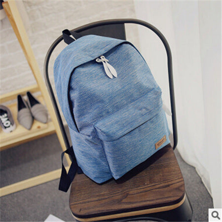 Classic Canvas Backpack - 3 colours - The Bag Culture
