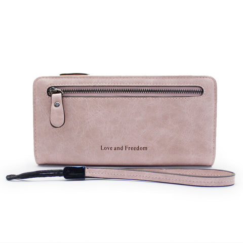 Leather Long Wallet For Women - The Bag Culture
