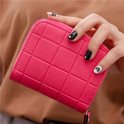 Solid Mini Women's Wallet - The Bag Culture