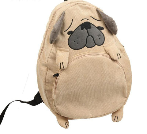 Cute Dog & Fox Backpack - The Bag Culture