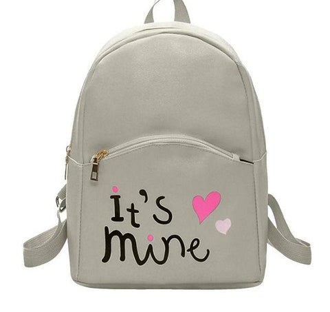 Preppy Style Womens Backpack - The Bag Culture