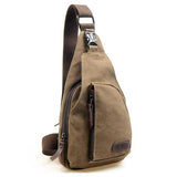 Man Fashion Messenger Casual Travel Chest Bag Canvas - The Bag Culture