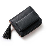Short Tassel Small Mini Women Zipper - The Bag Culture