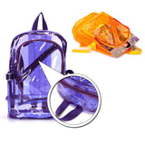 Candy Colour Transparent Backpack - 2 Colours