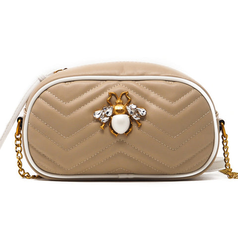Gigi Bee Quilted Clutch Bag - The Bag Culture