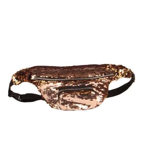 Two-Tone Sequin Festival Fanny Pack - 5 colours