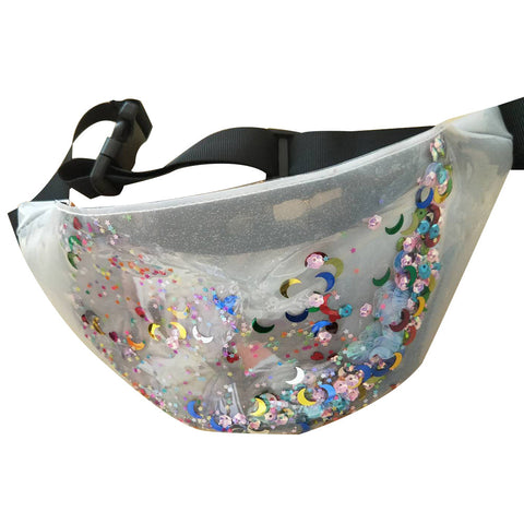 Lazar Floating Sequin Waist Bag - 3 colours