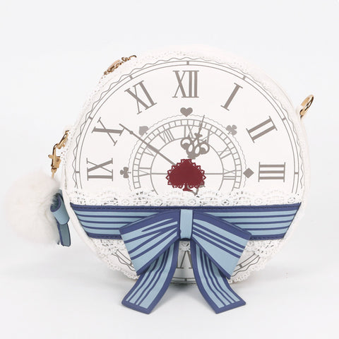 Alice in Wonderland Clock Bag