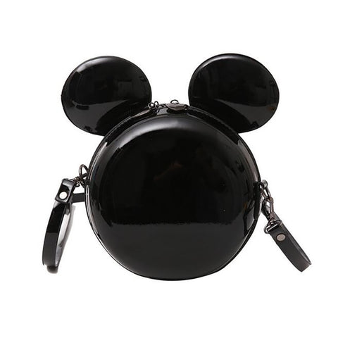 Minnie Patent Cartoon Mouse Bag - 2 colours