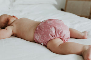 NEW Bare and Boho V2 Cloth Nappy set Waratah