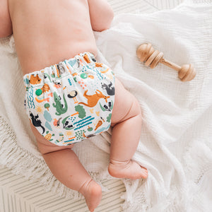 NEW Baby BeeHinds Magicall all-in-two Cloth Nappy with Velcro - Bush Buddies
