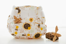 Load image into Gallery viewer, NEW Baby BeeHinds Magicall all-in-two Cloth Nappy with Velcro - Bee-Mine