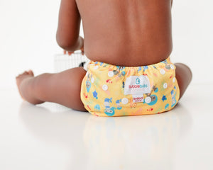 LIMITED EDITION Bubblebubs Candie Minky Cloth Nappy Set Mamma