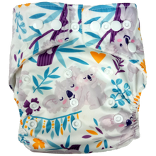 Load image into Gallery viewer, Hippybottomus - Stay Dry Bamboo Cloth Nappy - Koala