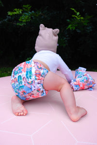 NEW Baby Bare Bare Cub AIO Cloth Nappy No Prob-Llama