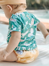 Load image into Gallery viewer, NEW Baby BeeHinds Magicall all-in-two Cloth Nappy with Velcro - Golden Doze