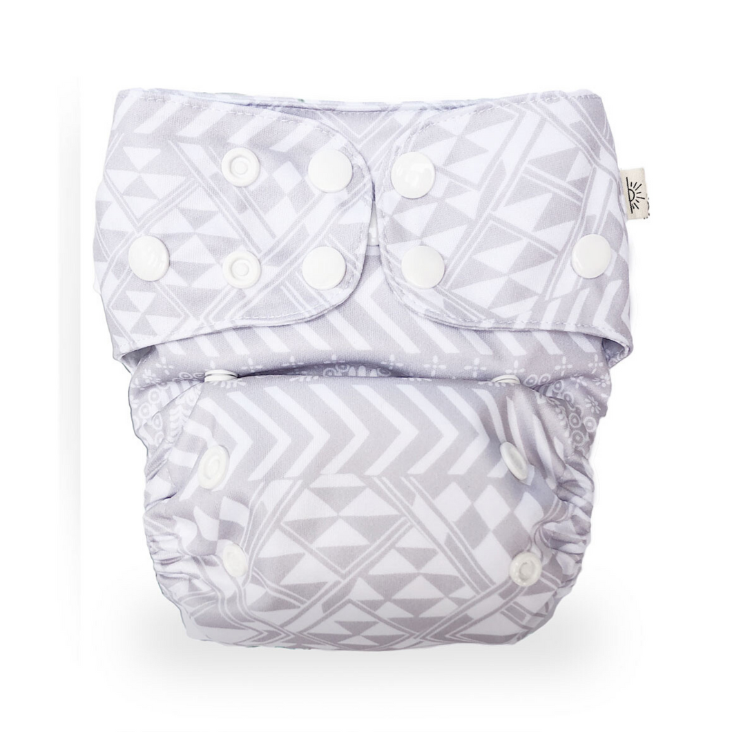NEW EcoNaps Cloth Nappy Set Wanderlust Sand