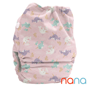 LIMITED EDITION Bubblebubs Candie Minky Cloth Nappy Set Nana