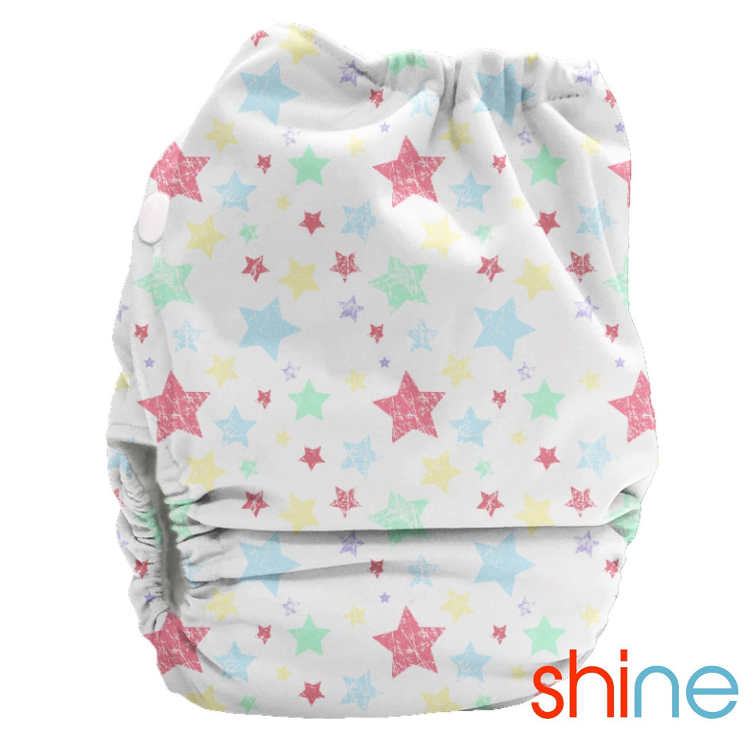 Bubblebubs Candie Minky Cloth Nappy Set Shine