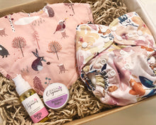Load image into Gallery viewer, Baby care pack - Tree Time Pink